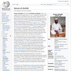 Anwar al-Awlaki, wikipedia