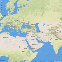 awmc - strabo map - ancient mediterranean world