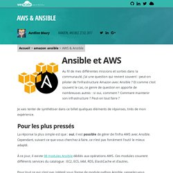 AWS & Ansible