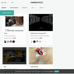 Website Awards - Sites of the day