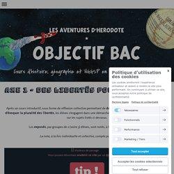 AXE 1 - Des libertés pour la liberté - Cours d'Histoire Géographie en Lycée par Yann Bouvier
