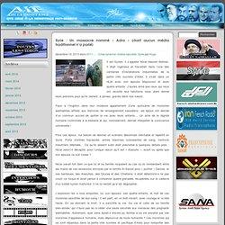 Accueil - axedelaresistance.com » Syrie : Un massacre nommé « Adra » (dont aucun média traditionnel n'a parlé)