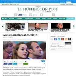 Axelle Lemaire est enceinte