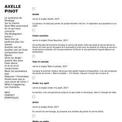 Axelle Pinot