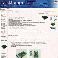 AxeMotion CNC Controller