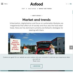 How Axfood interacts with a changing world - Axfood