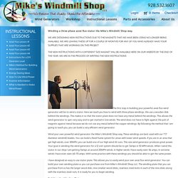 Axial Flux Lesson #1 - Mike's Windmill Shop