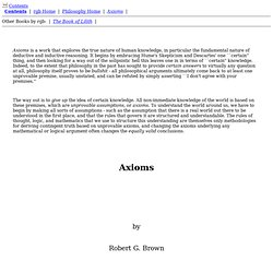 axioms - StumbleUpon