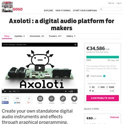 Axoloti : a digital audio platform for makers
