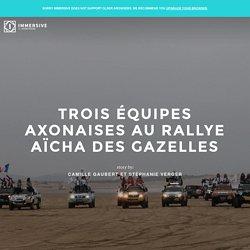 Trois Équipes Axonaises Au Rallye Aïcha Des Gazelles - Immersive
