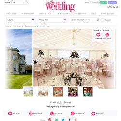 Hartwell House - Wedding venue in Near Aylesbury, Buckinghamshire