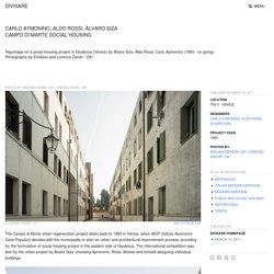 Carlo Aymonino, Aldo Rossi, Álvaro Siza, Emiliano Zandri / ZA², Lorenzo Zandri / ZA² · Campo di Marte social housing