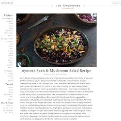 Ayocote Bean & Mushroom Salad Recipe