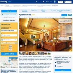 Ayothaya Hotel - Phra Nakhon Si Ayutthaya, Thaïlande