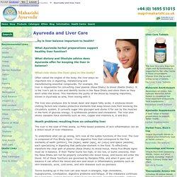 Ayurveda And Liver Care