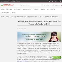 Ayurvedic Tea - Immunity Enhancer