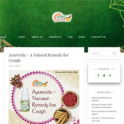 Ayurvedic Remedy For Cough