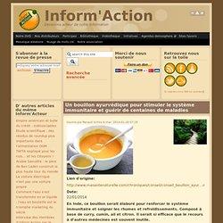 Bouillon ayurvédique pour stimuler le système immunitaire et guérir de centaines de maladies