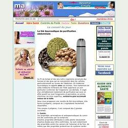 Le thé Ayurvedique de purification abdominale
