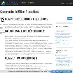 Comprendre le RTB en 4 questions