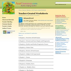 Classroom Materials » UUEG Teacher-Created Worksheets