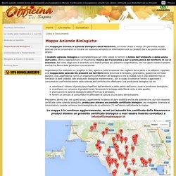 Mappa Aziende Biologiche - Officina dei sapori