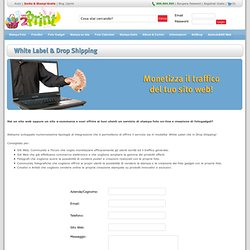 Aziende & Siti Web - White Label e Drop Shipping