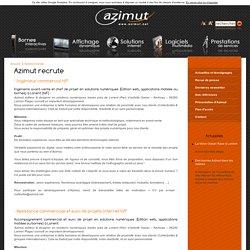 Azimut recrute - Azimut