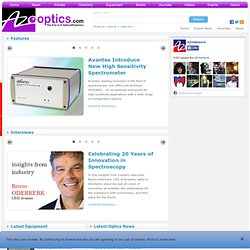 The A to Z of Optics / Photonics: News, Article, Directory and More