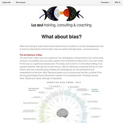 Luz azul Inspirational Mail: What about bias?