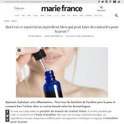 Azulène : quels sont les bienfaits de cet ingrédient de couleur bleue ?