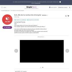 B.A.-BA de la recherche d'emploi