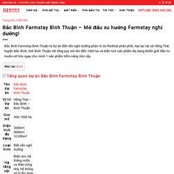 Bắc Bình Farmstay Bình Thuận - Mở đầu xu hướng Farmstay nghỉ dưỡng!