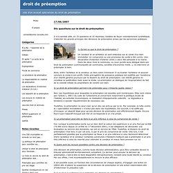 b-a-ba_l_essentiel_de_la_preemption : droit de préemption