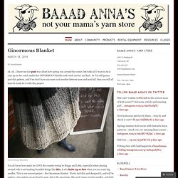 Baaad Anna's: not your mama's yarn store