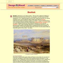Baalbek.
