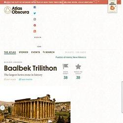 Baalbek Trilithon – Baalbek, Lebanon
