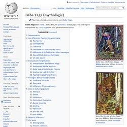 Baba Yaga (mythologie)