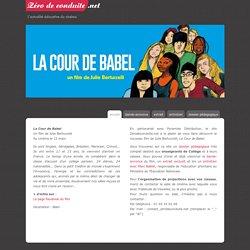 La Cour de Babel un film de Julie Bertuccelli - Le site p?dagogique