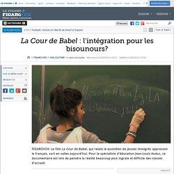 La Cour de Babel : l'intégration pour les bisounours?