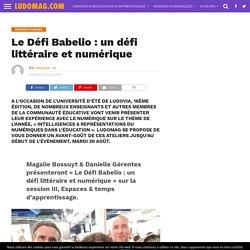 Le Défi Babelio : un défi littéraire et numérique