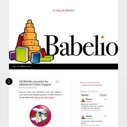Où Babelio rencontre les éditions de l'Arbre Vengeur