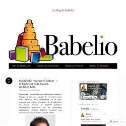 Où Babelio rencontre l'éditeur et fondateur de la maison d'édition Kero