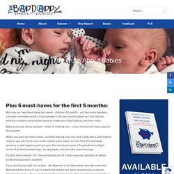 The Truth About Babies - BadDaddy Publishing
