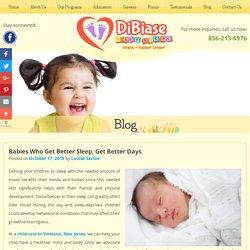 Babies Who Get Better Sleep, Get Better Days
