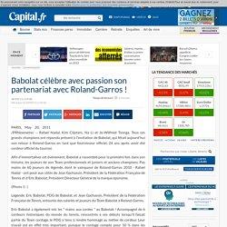 Babolat célèbre avec passion son partenariat avec Roland-Garros !