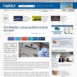 Eric Babolat : son jeu préféré, le fond de court
