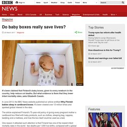 Do baby boxes really save lives?