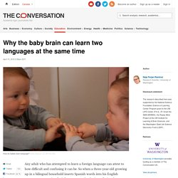 Babies' brains are wired to learn multiple languages at once — Quartz