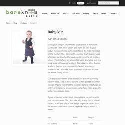 Bare Knees - kilt maker and child kilt hire